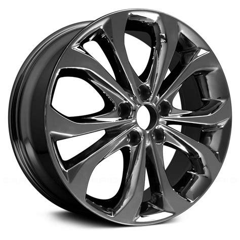 "Get affordable hyundai sonata wheels you deserve. Replace® - Hyundai Sonata 2010 18"" Remanufactured 5 Double ..."