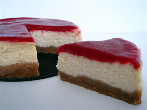 New York Cheesecake With Raspberry Topping  Bakeatron