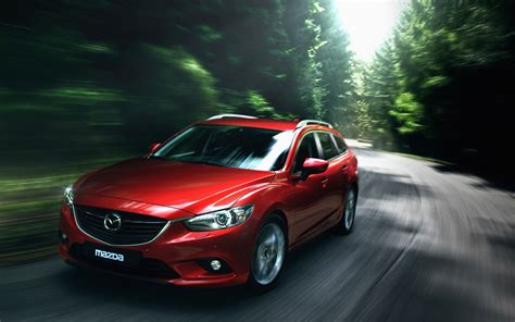 Mazda 6 4k Wallpapers by 2013 Mazda 6 Wagon Wallpaper Hd Car Wallpapers Id 3075