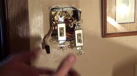 Basic bathroom wiring diagram wiring double switch bathroom fan. How to Wire a Double Switch - Light Switch Wiring - Conduit - YouTube