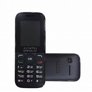 Celular Alcatel 1050a Negro Microsd 2gb Liberado