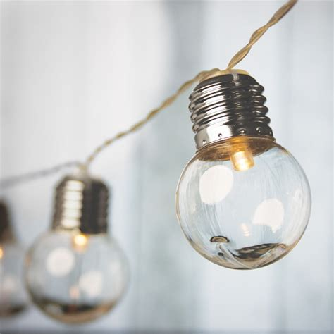 solar bulb string lights lytworx solar light bulb string lights 10pk bunnings