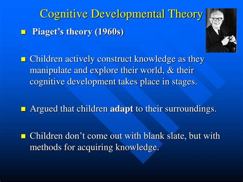 ppt developmental psychology powerpoint presentation 495 | cognitive developmental theory l