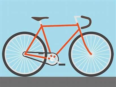 Animated Bike Infographic Interactive Gifs Fixie Dribbble