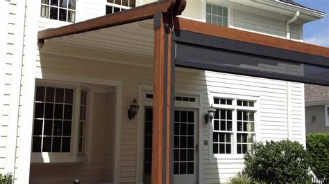 """Durasol Awnings """"the Gennius""""  A Waterproof Retractable"""