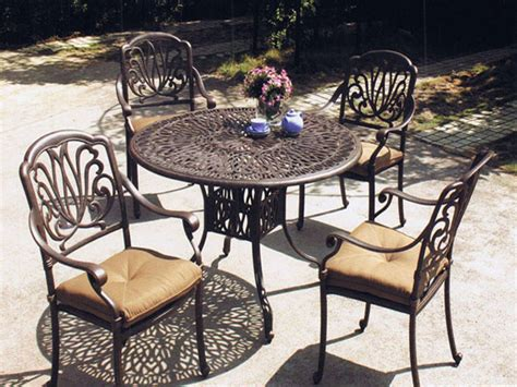 Iron Patio Furniture by Bar Table Set Backless Barstools Patio Garden Furniture