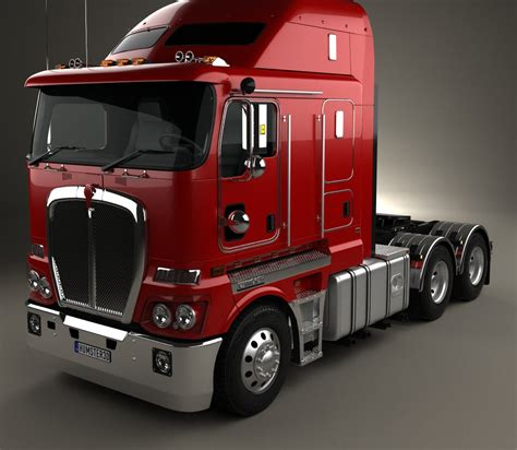 new truck models kenworth k200 tractor truck 2010 3d model humster3d