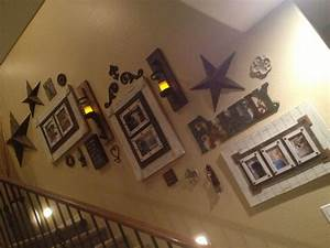 Staircase decor idea -something like this Framing