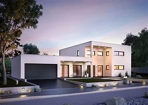 Haus Mit Büroanbau : bauhaus ixeo von kern haus stilvoll leben mit home office ~ Markanthonyermac.com Haus und Dekorationen