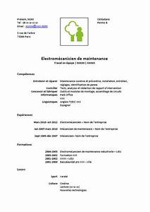 Mecanicien Auto Salaire : modele cv mecanicien document online ~ Medecine-chirurgie-esthetiques.com Avis de Voitures