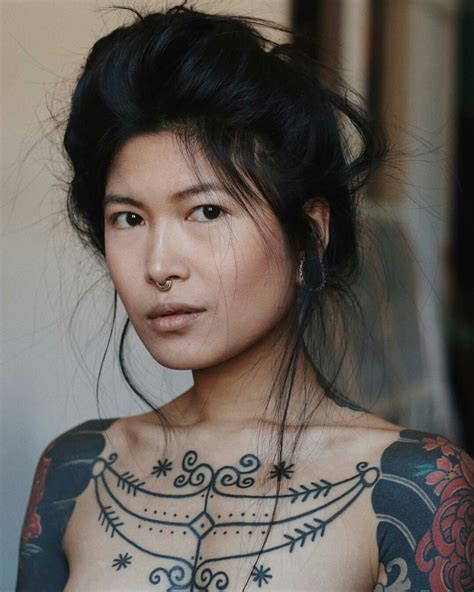 anhwisle ethnic beauty tattoos character inspiration