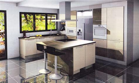 aménagement cuisine ouverte sur salle à manger idee amenagement cuisine salon salle a manger cuisine en