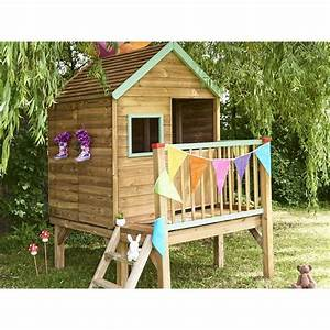 Cabane De Jardin En Bois Enfant : cabane enfant winny en bois bois forest style la redoute ~ Dailycaller-alerts.com Idées de Décoration