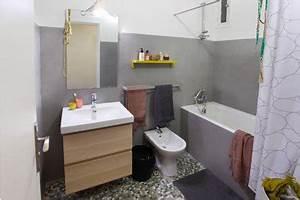carrelage salle de bain relooke avec masqu39carrelage With carrelage adhesif salle de bain avec guirlande led jardin