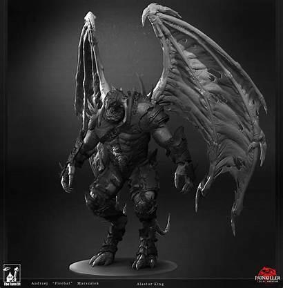 Alastor King Zbrush Creature 3d Marszalek Andrzej