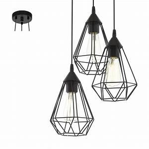 Suspension Industrielle Ikea : suspension industrielle filaire 3 lumi res tarbes noire en m tal keria luminaires ~ Teatrodelosmanantiales.com Idées de Décoration