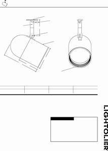 Lightolier Work Light 9530 User Guide