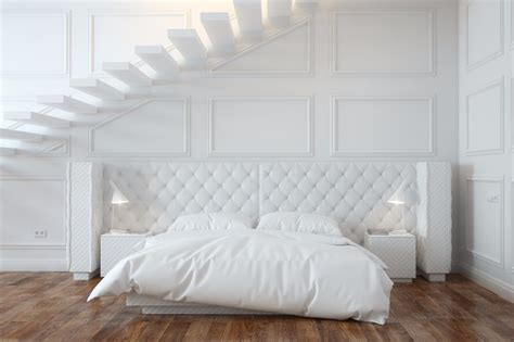 Calm And Charming All White Bedrooms