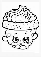 Clipart Drawing Shopkin Cupcake Coloring Transparent Pngitem sketch template