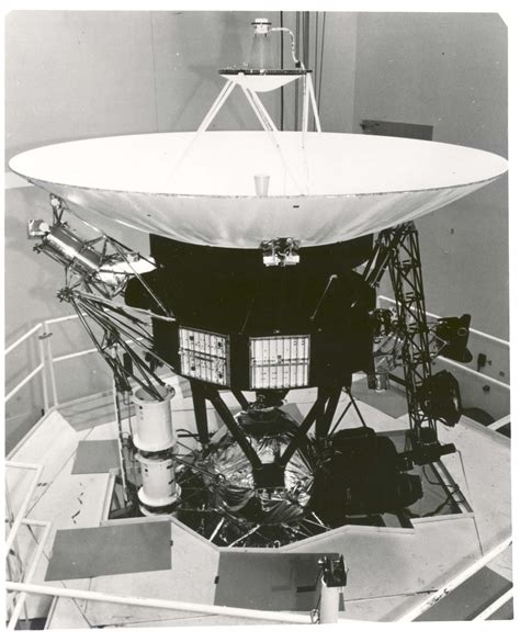 Filevoyager Spacecraft During Vibration Testing Gpn