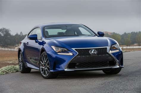 Lexus Rc F Hp by 2016 Lexus Rc Coupe Adds Turbo Four 200t V 6 300 Awd Models