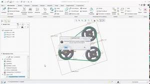 Belt Drive Mechanism In Creo Parametric 3 0