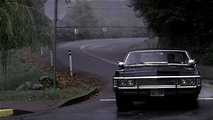 Dean And Sam Winchester In A Chevrolet Impala ...