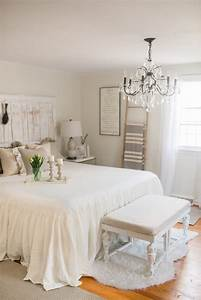 French Country Farmhouse Decor // Our Bedroom - Lynzy & Co