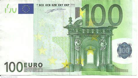 canap 100 euros 100 x germania emisiunea 2002 100