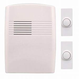 Heath Zenith Wireless Battery Operated Door Chime Kit