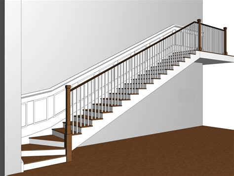 Stairs : Open Stringer Stairs