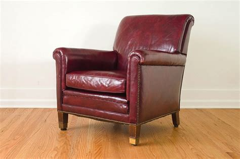leather club chairs club chairs and burgundy on