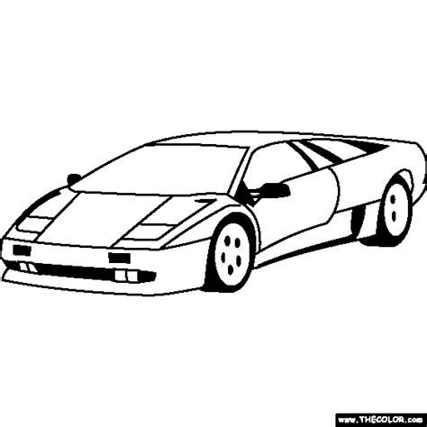 Kleurplaat Lamborghini Sesto Elemento by Free Coloring Pages Thecolor