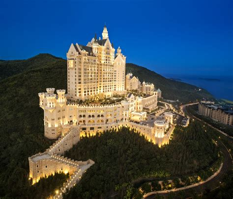 The Castle Hotel in Dalian - Medieval-Like Architecture In ...