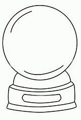 Globe Snow Coloring Globes Template Drawing Winter Printable Outline Snowglobe Ball Crystal Adult Templates Sketch Sketchite Crystals Sheets Snowman Printables sketch template