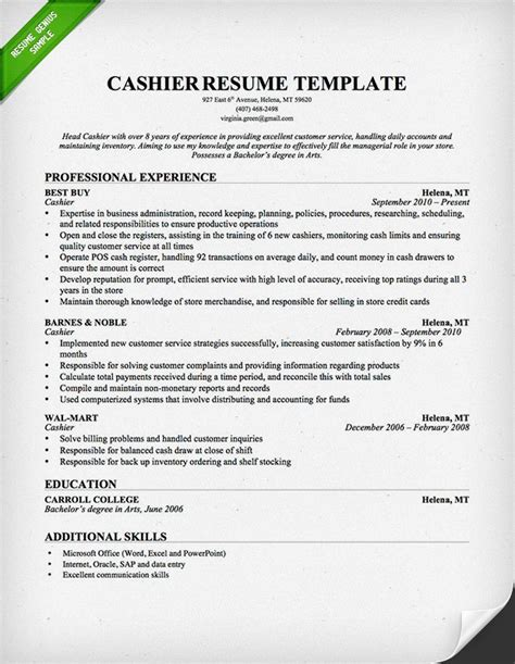 Cashier Resume Sample & Writing Guide  Resume Genius. Graduate School Sample Resume. Entry Level Public Relations Resume. Resume For Supervisor Position Sample. Sociology Resume Examples. Examples For Resume. Embedded Design Engineer Resume. Sample Resume For Truck Driver. How To Write An Email Sending A Resume