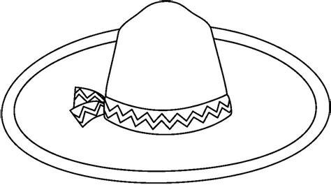 dibujo de sombrero para pintar imagui