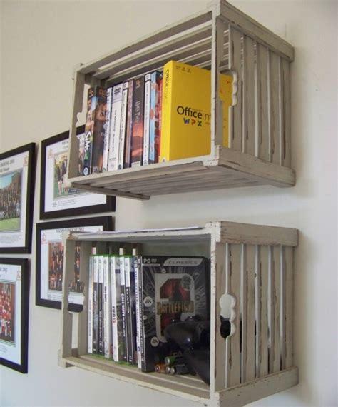 etagere chambre ado 1001 idées pour fabriquer une étagère en cagette soi même