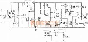 dc regulated power supply protection circuit composed of With delay circuit with quotwatchdogquot composed of 555 555circuit circuit