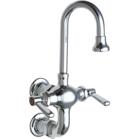 chicago kitchen faucet chicago faucets 2 handle kitchen faucet in chrome with 3 3