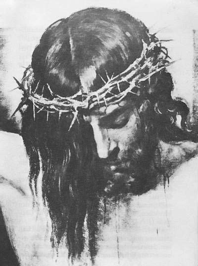 Jesus with crown thorns silhouette - Google Search | Christ tattoo, Jesus tattoo, Jesus drawings