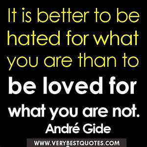 Being Hated Quotes. QuotesGram