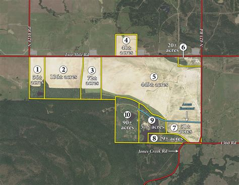 Real Estate Auction-1,000 Ac-10 Tr
