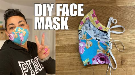 3 how to sew scarf mask. Masks Cloth Sewing Printable Patterns / Adult Face Mask ...