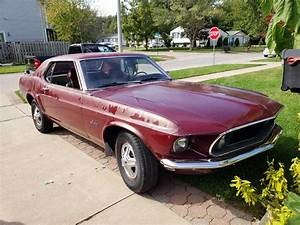 1st generation classic 1969 Ford Mustang automatic For Sale - MustangCarPlace