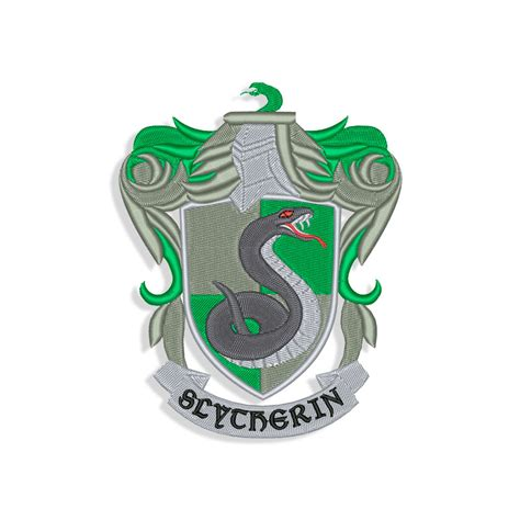 slytherin logo machine embroidery designs  svg files