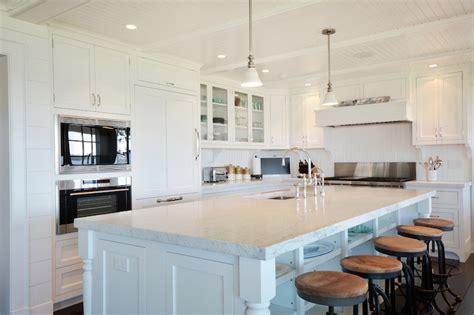 shaped kitchen cottage kitchen hamptons habitat