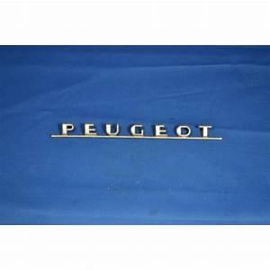 Monogramme Peugeot : monogramme peugeot chrome antares design ~ Dode.kayakingforconservation.com Idées de Décoration