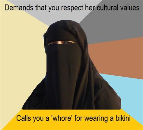 Burka Meme - burka lone pakistani liberal