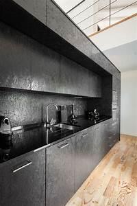 Vinylboden Auf Osb Platten : schwarze osb platten f r eine k che diy mit osb platten m bel selber bauen k che k chen ~ Watch28wear.com Haus und Dekorationen